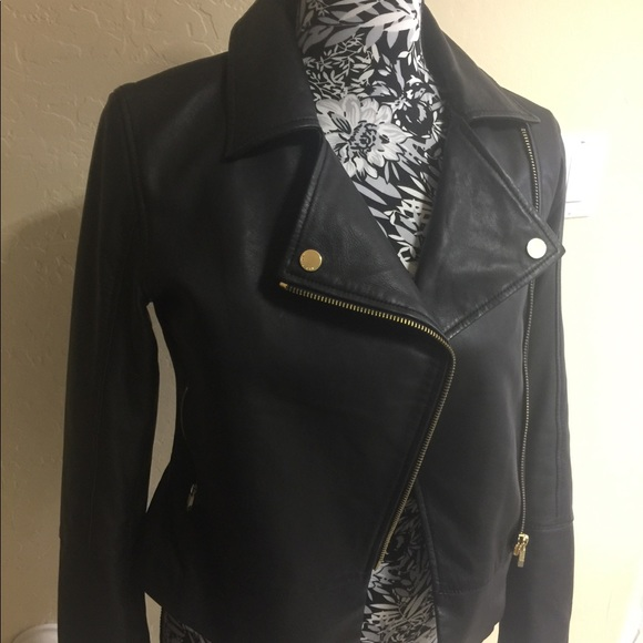 outstanding features select for clearance sale uk Ted Baker Lizia moto Minimal leather jacket 1